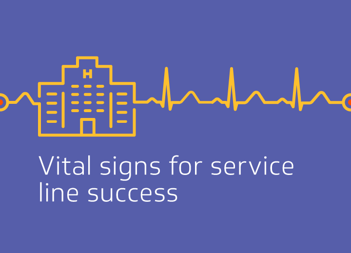 Vital signs for service line success